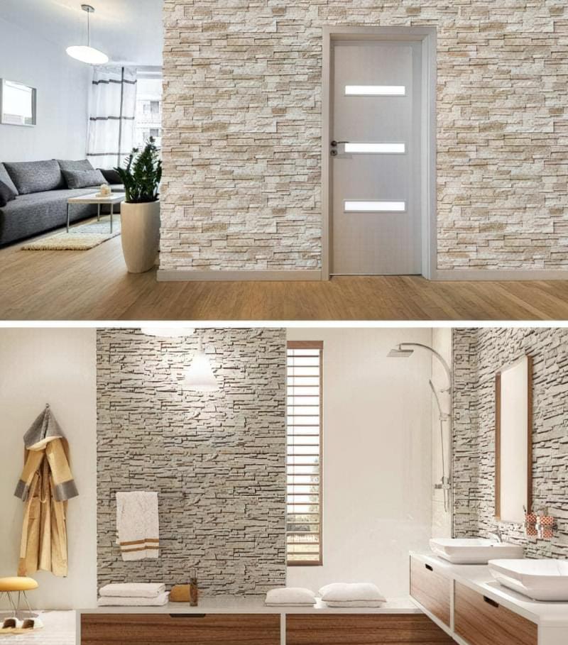 Фасадний камінь в інтер'єрі — новий тренд в обробці стильних приміщень (фото) 10