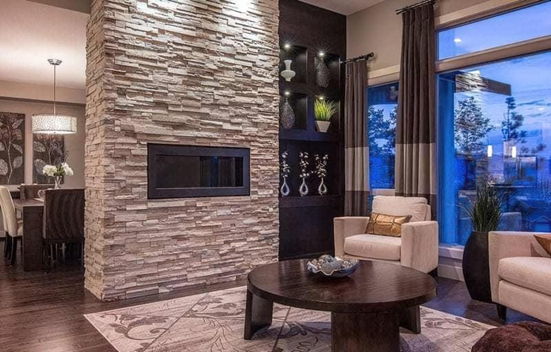Фасадний камінь в інтер'єрі — новий тренд в обробці стильних приміщень (фото) 1