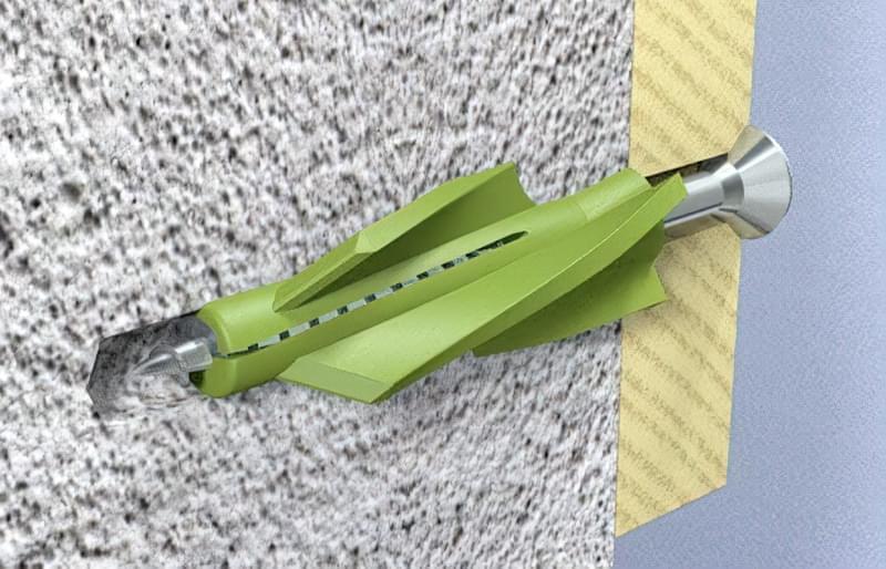 Самостійне кріплення полиць до стіни різними способами 6