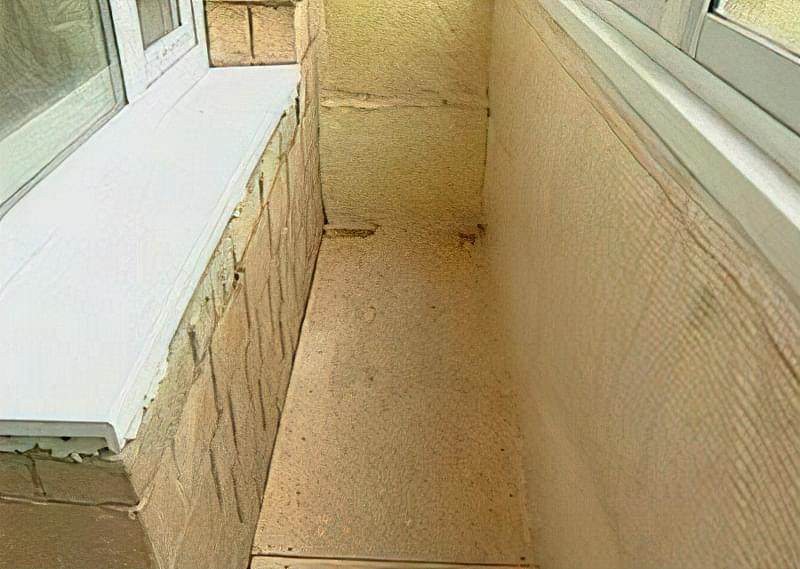 Як правильно утеплити підлогу на закритій лоджії? 2