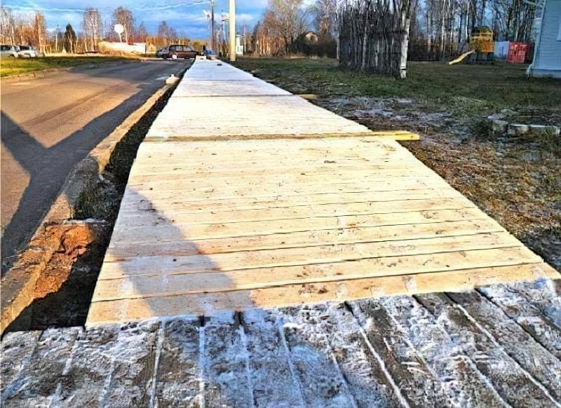 Дерев'яні доріжки на дачі: недорого, технологічно і практично 2