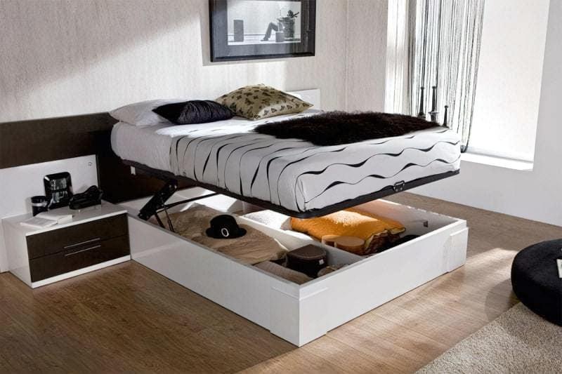 Місця зберігання під ліжком: плюси, мінуси, варіанти 3