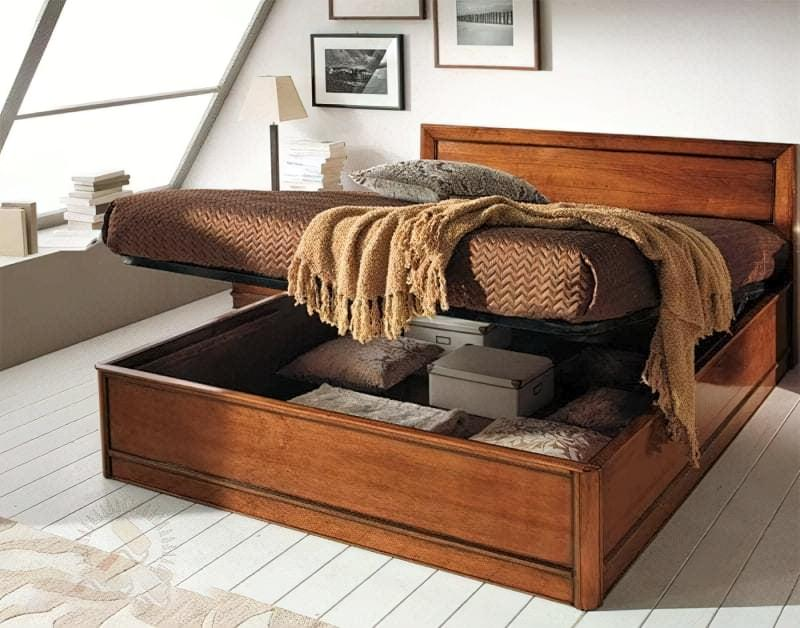 Місця зберігання під ліжком: плюси, мінуси, варіанти 4