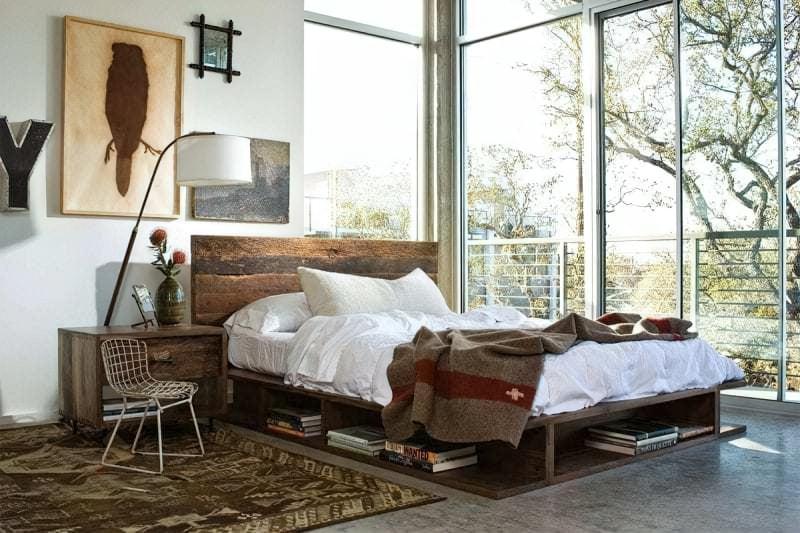 Місця зберігання під ліжком: плюси, мінуси, варіанти 7