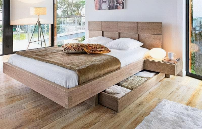 Місця зберігання під ліжком: плюси, мінуси, варіанти 1