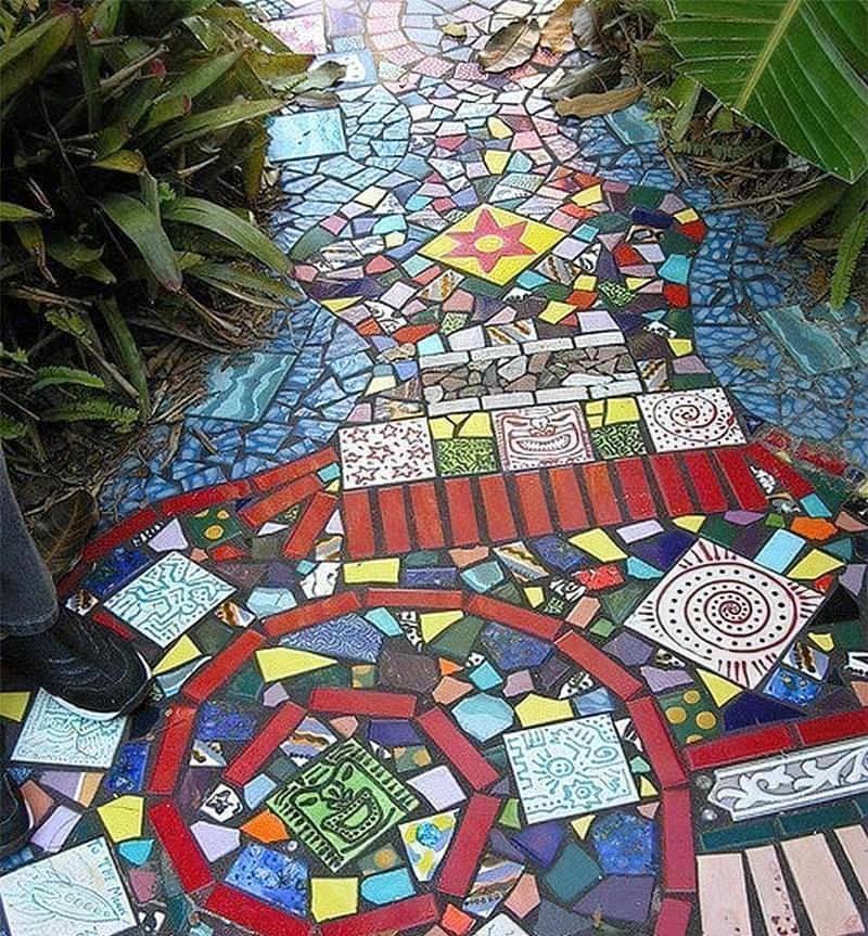 Мозаїка з битої плитки: як зробити своїми руками 2