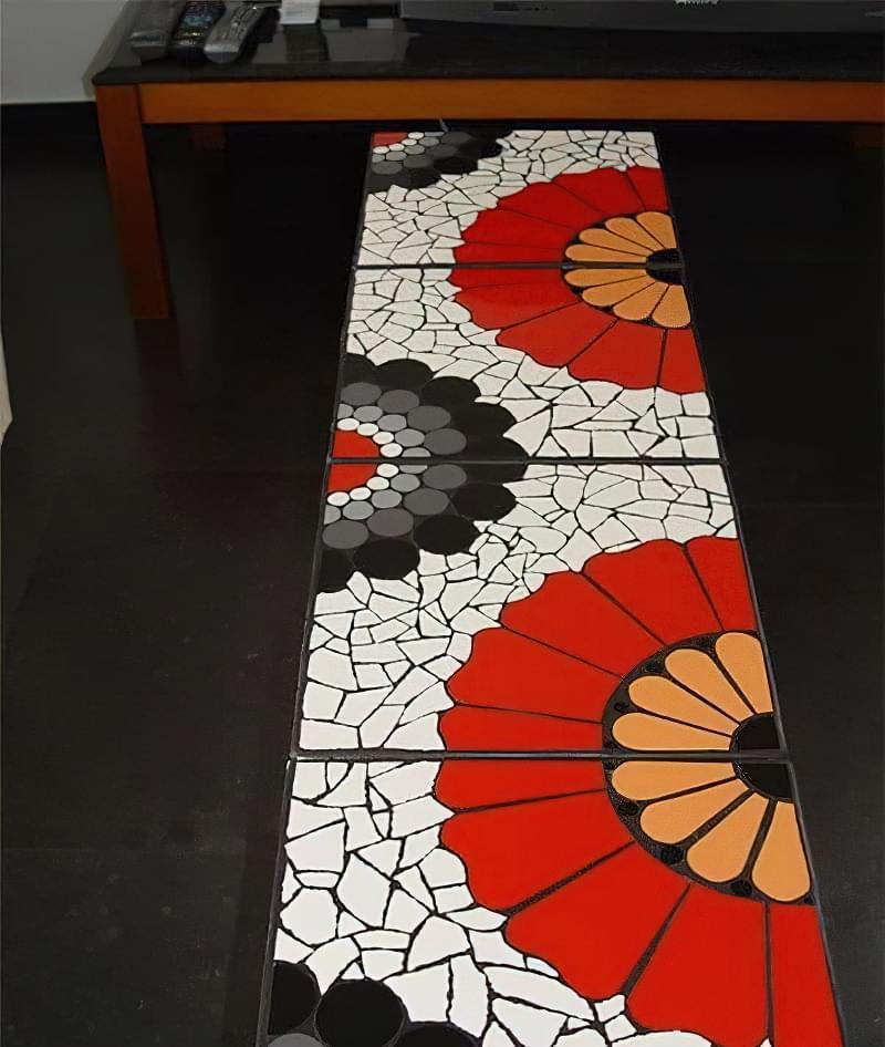 Мозаїка з битої плитки: як зробити своїми руками 3