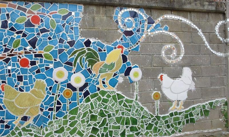 Мозаїка з битої плитки: як зробити своїми руками 4