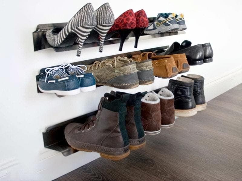 Полички для взуття своїми руками 1