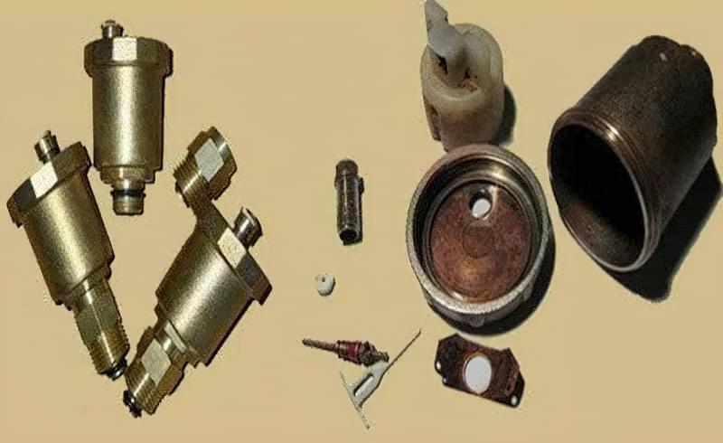 Повітряний клапан види і принцип роботи