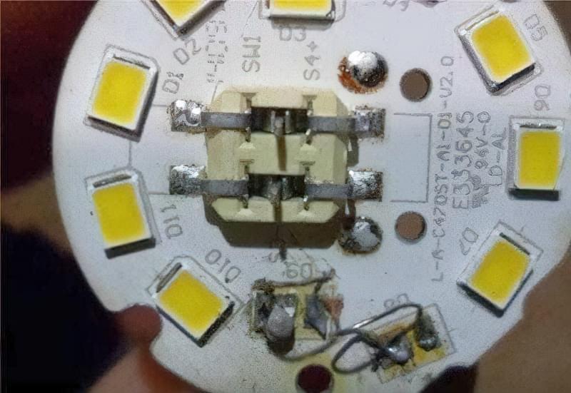 Як відремонтувати світлодіодну лампочку на 220 В 5