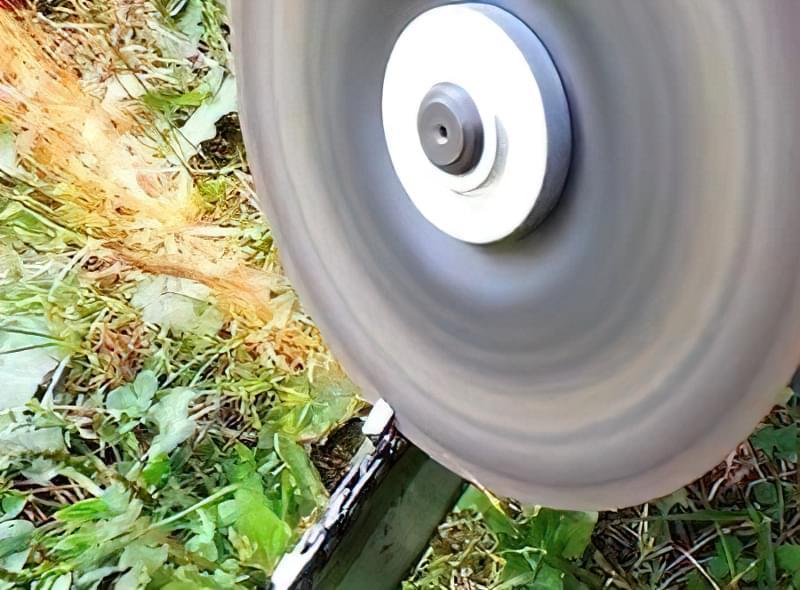 Як заточити ланцюг бензопили болгаркою