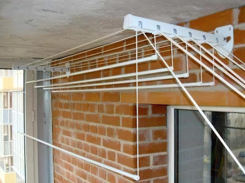 Балконна сушарка для білизни 3