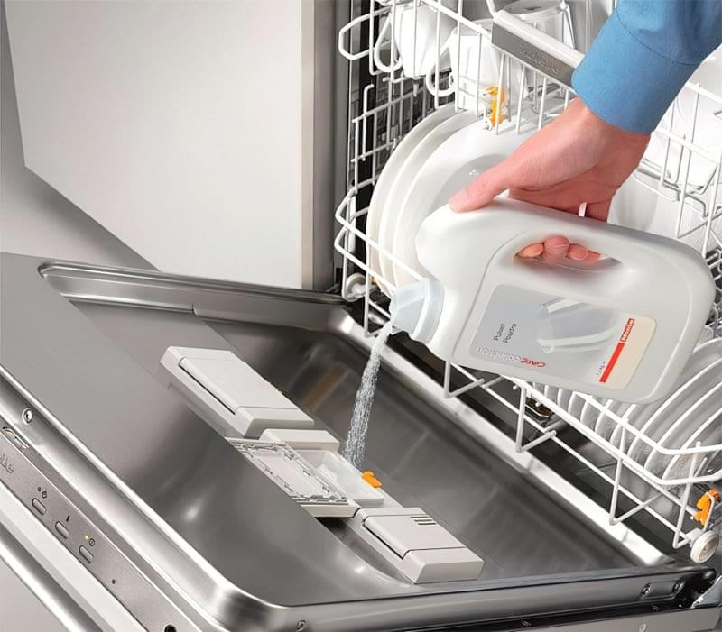 Відсік для миючого засобу