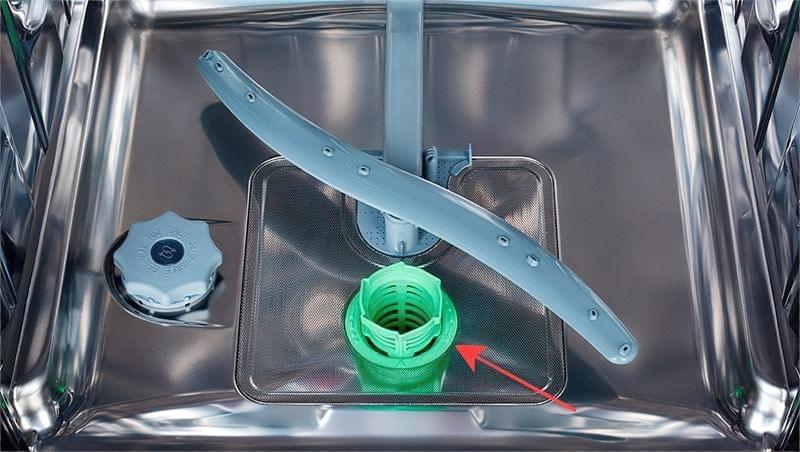 Система фільтрів посудомийної машини