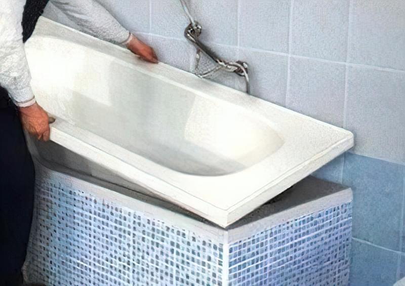 Акриловий вкладиш для ванни