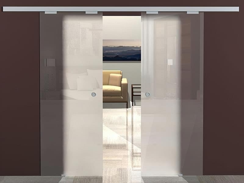 Скляні двері фото