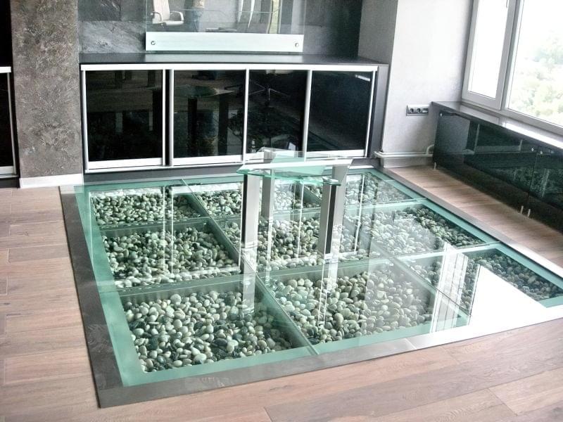 скляна підлога фото