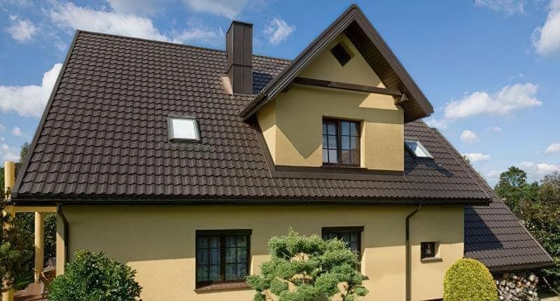 кольори металочерепиці для даху назви