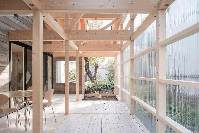 Японські каркасні будинки: особливості та приклади 2