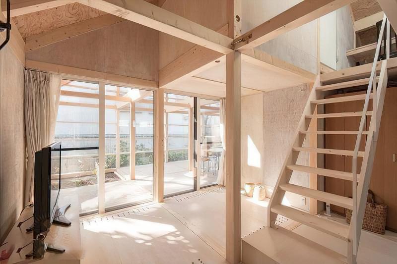Японські каркасні будинки: особливості та приклади 3
