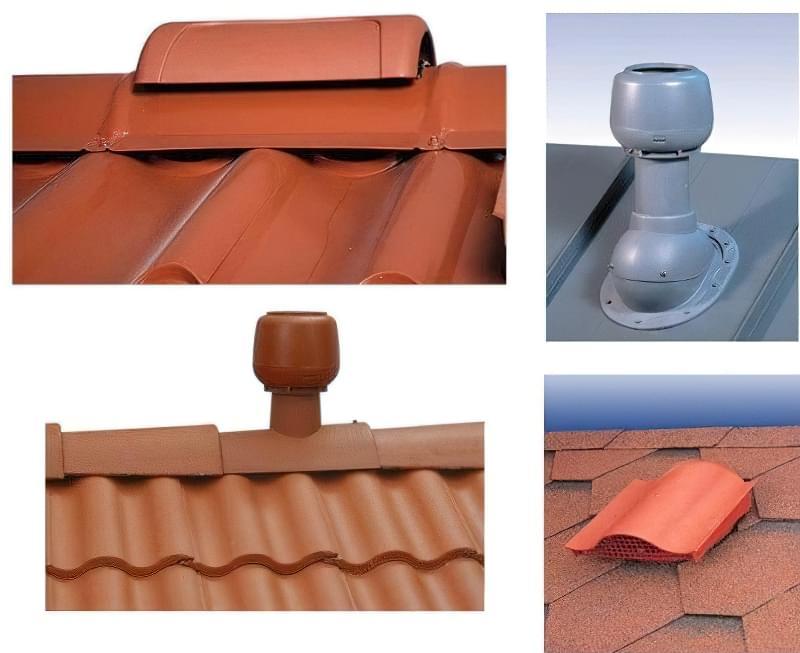 Монтаж витяжки на дах через металочерепицю
