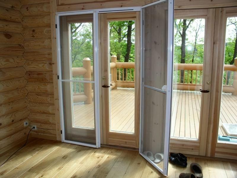 Москітна сітка на балконні двері 2