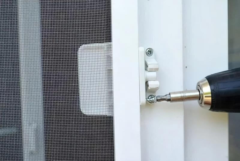Москітна сітка на балконні двері 4