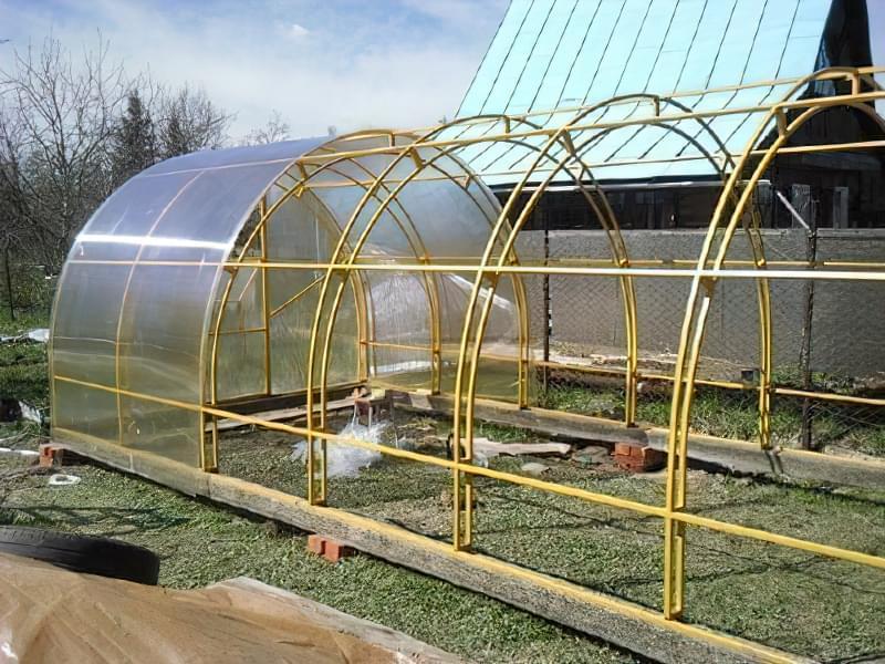 Як покрити дах теплиці полікарбонатом? 1