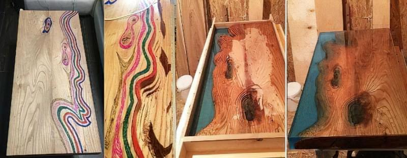 Стільниця з епоксидної смоли — робимо оригінальний стіл 1