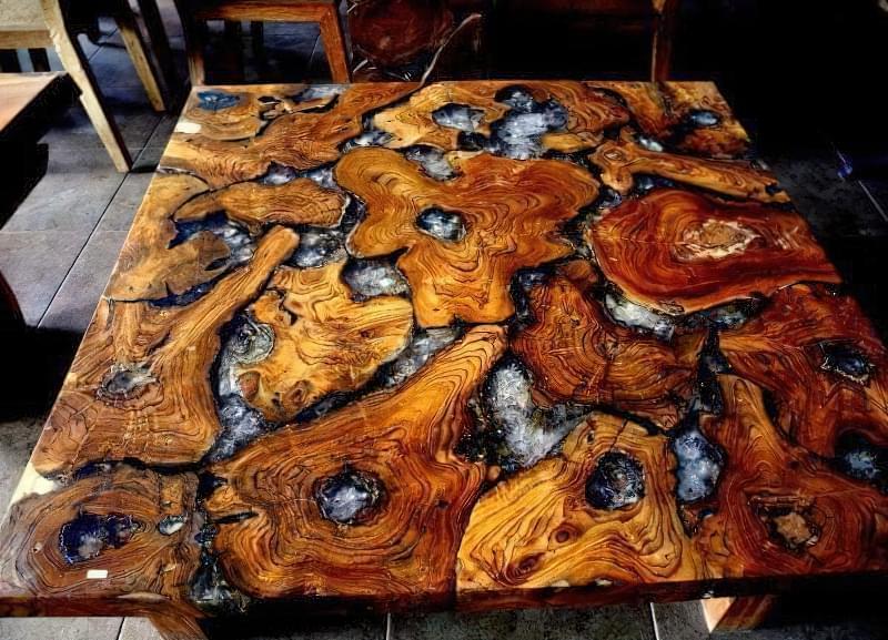 Стільниця з епоксидної смоли — робимо оригінальний стіл 8