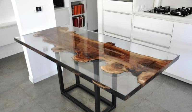 Стільниця з епоксидної смоли — робимо оригінальний стіл 4