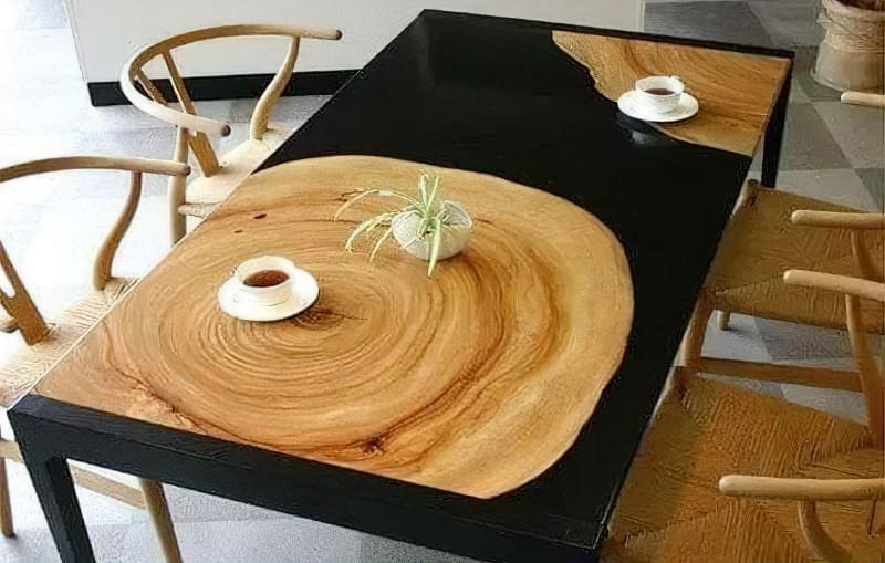 Стільниця з епоксидної смоли — робимо оригінальний стіл 5