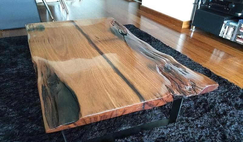 Стільниця з епоксидної смоли — робимо оригінальний стіл 6