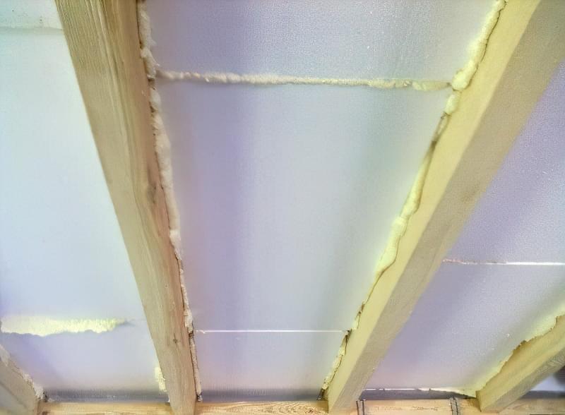 Чим і як краще утеплити дах на балконі 5