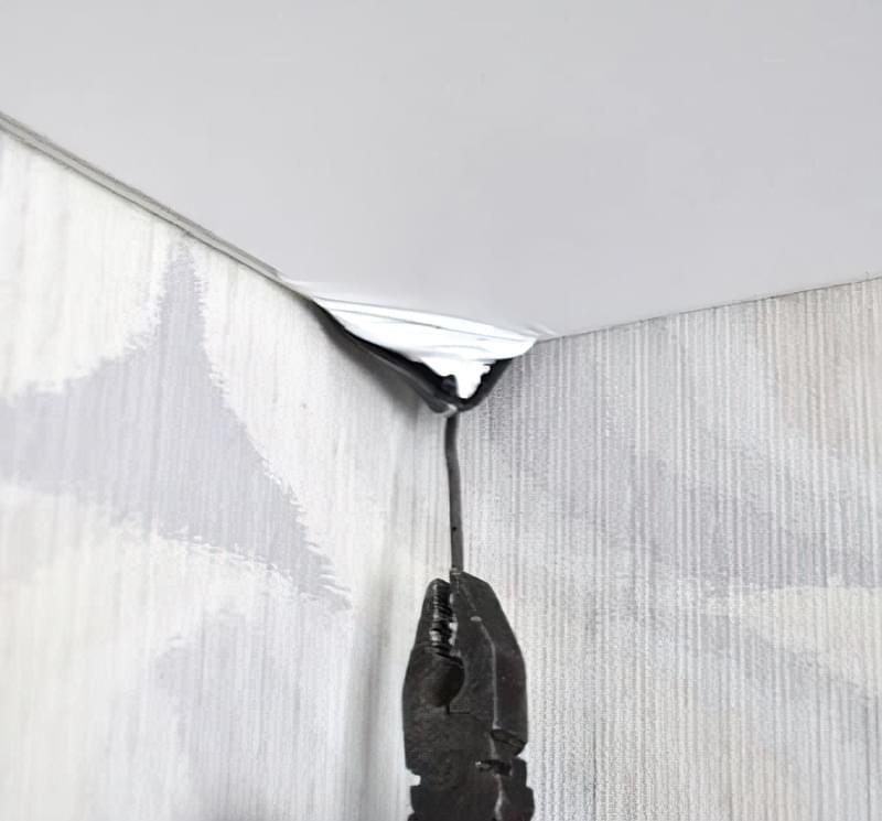 Гарпунна система кріплення натяжних стель: будова, демонтаж, фото 11