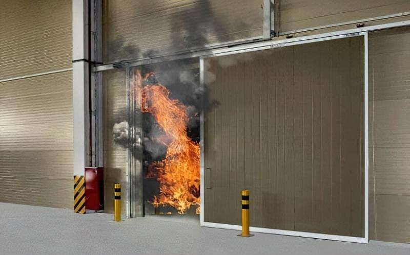 Особливості протипожежних воріт і їх різновиди