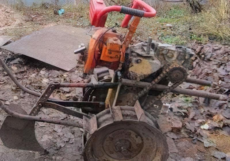 Мотоблок з бензопили