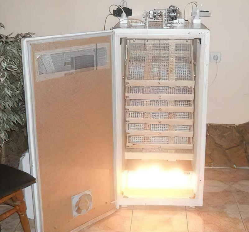 Як зробити інкубатор з холодильника