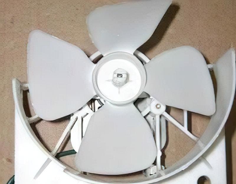 Вентилятор мікрохвильової печі