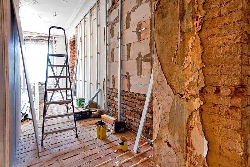 Як захистити чистову обробку під час ремонту 1