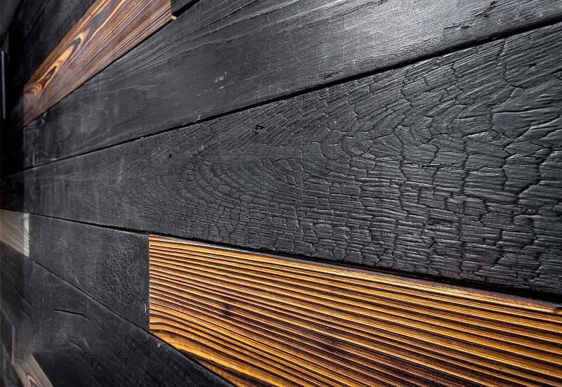 Японська технологія консервації деревини Shou-Sugi-Ban 2