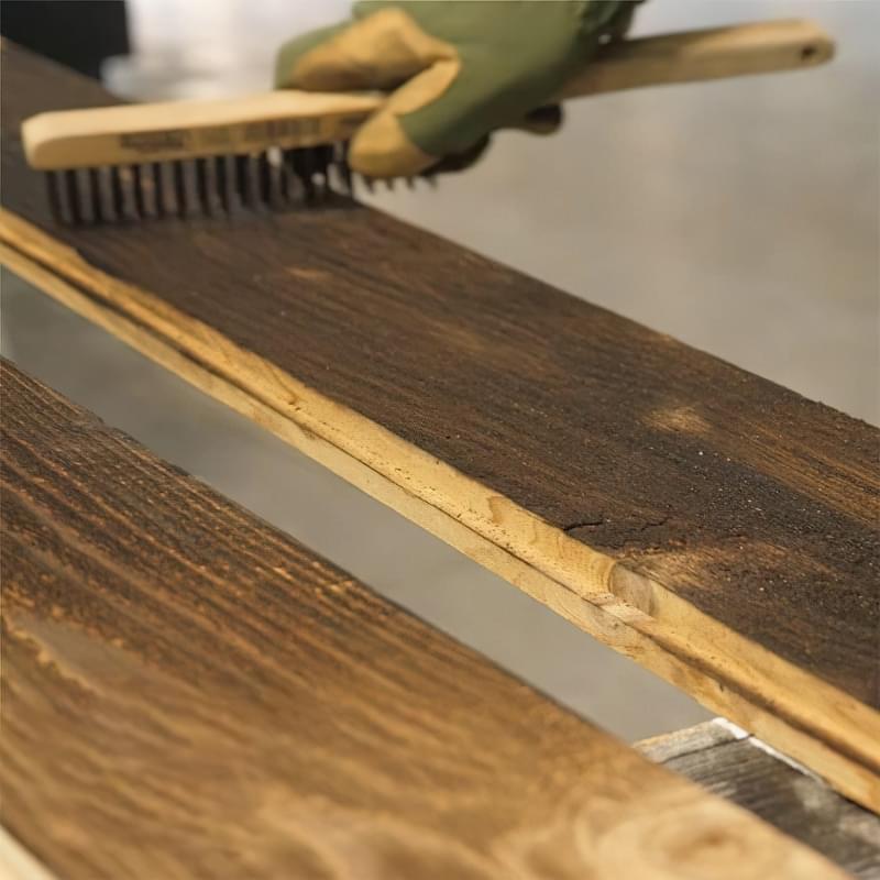 Японська технологія консервації деревини Shou-Sugi-Ban 5