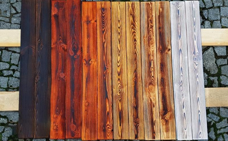 Японська технологія консервації деревини Shou-Sugi-Ban 6