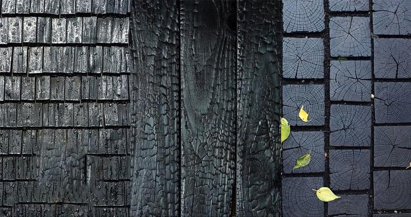 Японська технологія консервації деревини Shou-Sugi-Ban 1
