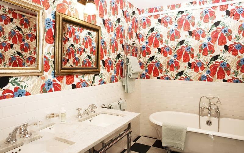5 альтернатив плитці у ванній кімнаті 2