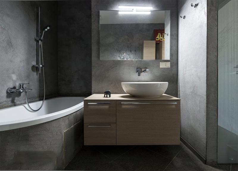 5 альтернатив плитці у ванній кімнаті 4