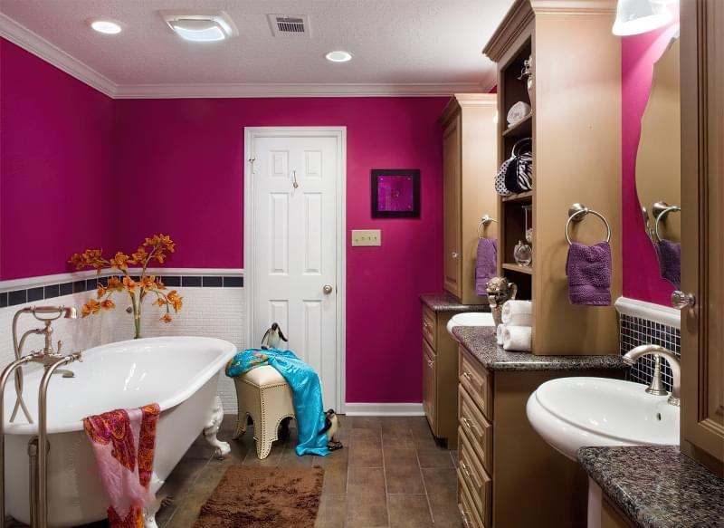5 альтернатив плитці у ванній кімнаті 1