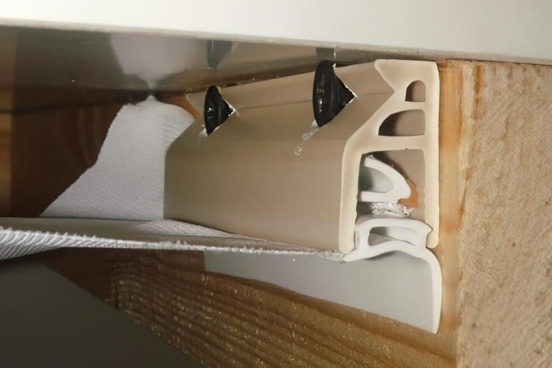 Натяжна стеля - тканинна або пвх, що краще, недоліки, відгуки 16