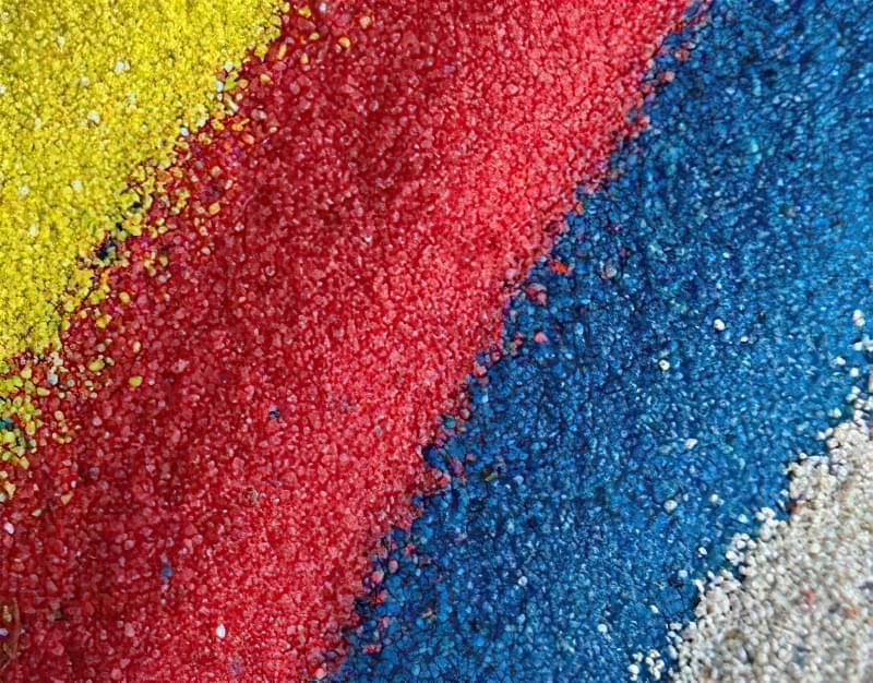 Пігменти для виробництва кольорового бетону 1